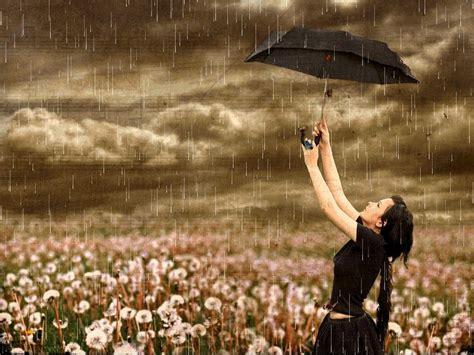 cute rain hd wallpaper beautiful rain flowers girl storm umbrella wal 1398 hd
