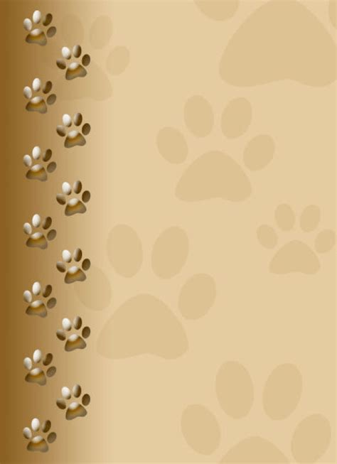 paw print powerpoint template puppy paw print wallpaper images paw prints
