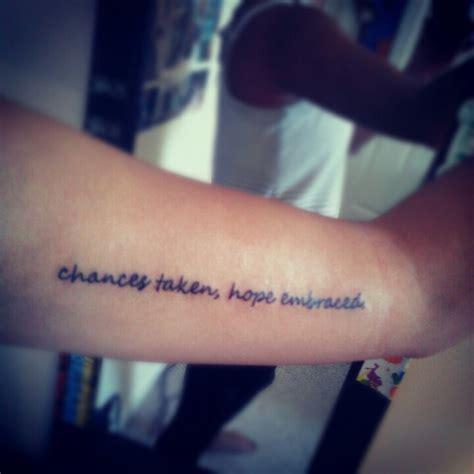 paramore tattoo lyrics my fifth tattoo chances taken hope embraced paramore