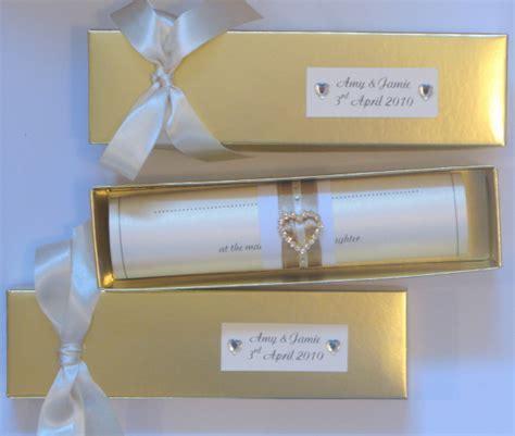 scroll wedding invitations scroll wedding invitation carol miller designs wedding