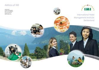 Imi Europe Mba by International Hotel Management Institute Switzerland By Imi