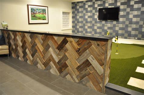 wall half wood panels image gallery herringbone reclaimed wood wall
