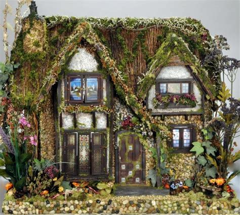 dolls house gardens the cotswold cottage fairy dolls house commission for nathalie peach bedroom cotswold cottages