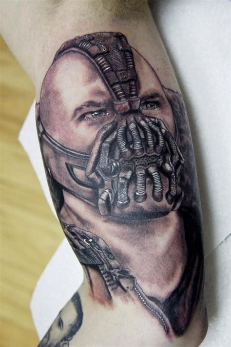 michael rose tattoo bane by toheavenorhell on deviantart tattoos