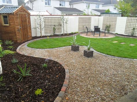 Raised Gravel Patio greenart landscapes garden design construction and