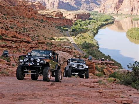 Jeeping In Moab 0805 4wd 01 Z Moab Utah Roading Jeep Rock Crawling
