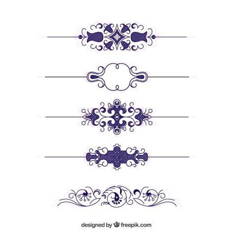 decorative border download decorative vintage borders vector free download