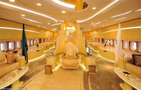 trump gold room jet privati dei piu ricchi al mondo foto