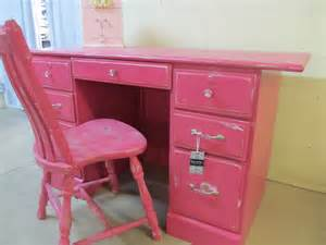 revival chic boutique and funky pink student desk w