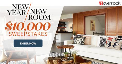 New Year Sweepstakes - bhg and overstock new year new room sweepstakes 2018