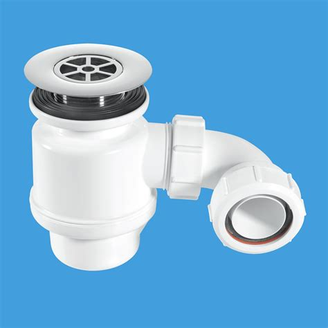 Shower P Trap by Mcalpine 50mm Seal Shower Trap 85mm Flange Stw8 R