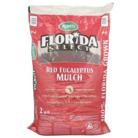 scotts florida select 2 cu ft eucalyptus mulch