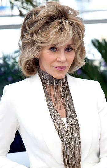 jane fonda hairstyle 2013 instructions women on medium length hair styles for women over 60 short