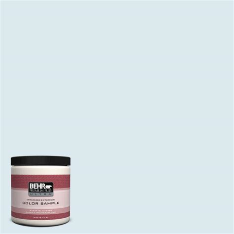 behr premium plus ultra 8 oz 540e 1 wave crest interior exterior paint sle 540e 1u the