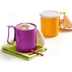 Jumbo Mug Tupperware 2 Buah jual perangkat minum gelas unik termurah lazada co id