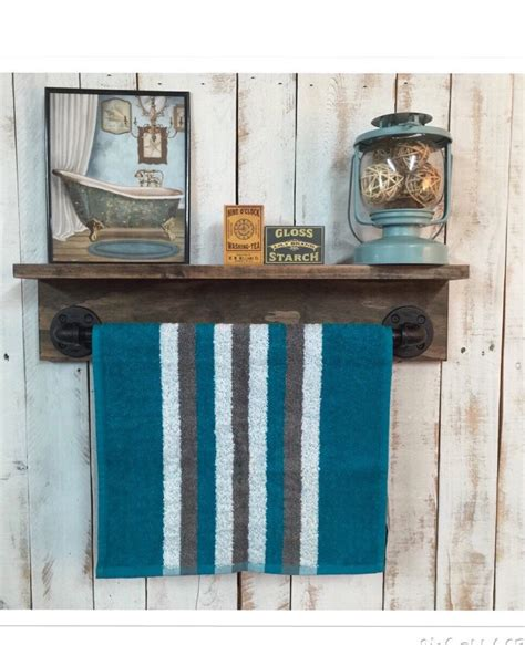 rustic bathroom towel racks rustic towel rack rustic bathroom decor rustic home decor