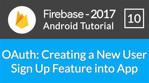 firebase user tutorial android studio firebase backend tutorial 10 oauth