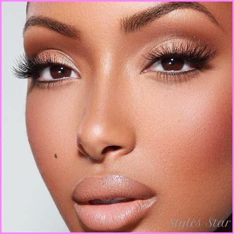 natural makeup tutorial for brown skin natural makeup tutorial for light skin stylesstar com