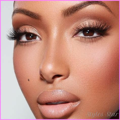 eyeshadow tutorial dark skin natural makeup tutorial for light skin stylesstar com