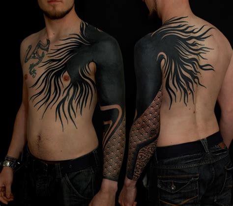 50 amazing blackwork tattoos tattoos mob