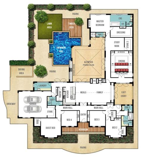 home plan designs single storey home design plan the farmhouse by boyd design perth floor plans