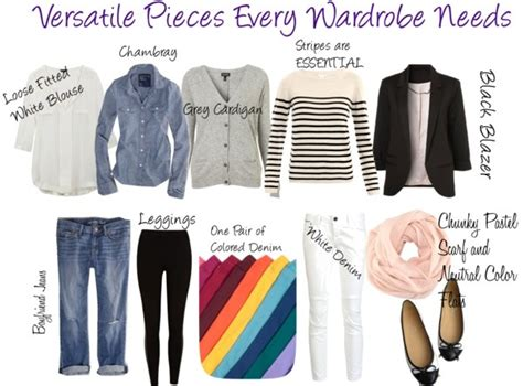 Versatile Wardrobe Pieces by 1000 Images About Fashion On