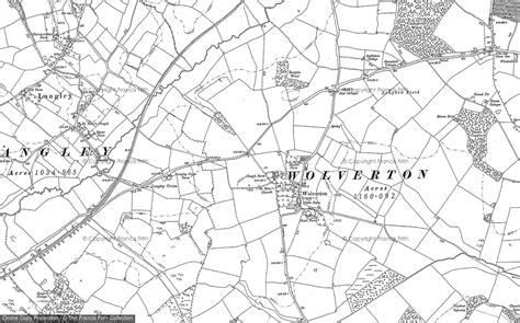 map uk wolverhton maps of wolverton francis frith