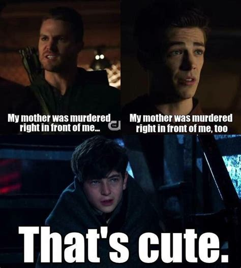 Funny Tv Memes - arrows gotham and tv shows on pinterest