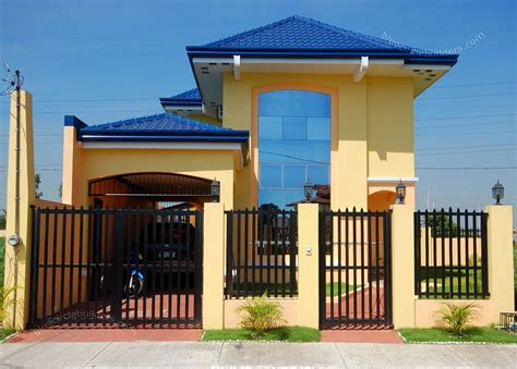 beautiful simple houses design 30 beautiful 2 storey house photos bahay ofw