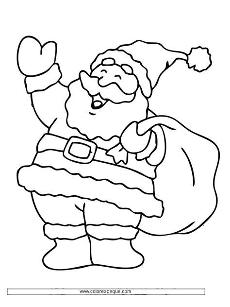 imagenes de santa claus para colorear dibujos de santa claus coloring home