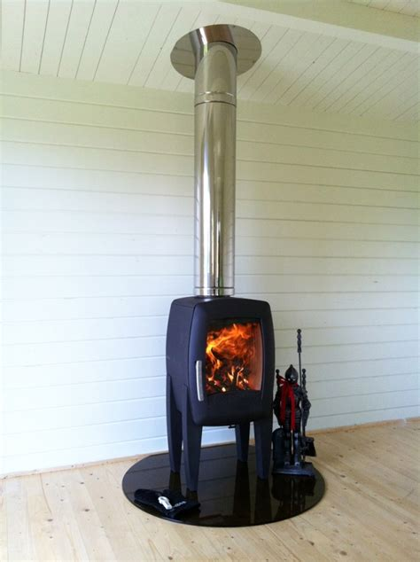 installing a wood stove in basement wood stove home