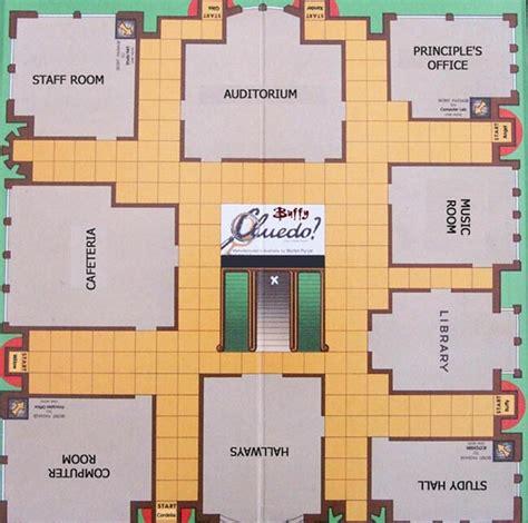 clue room names cluedo