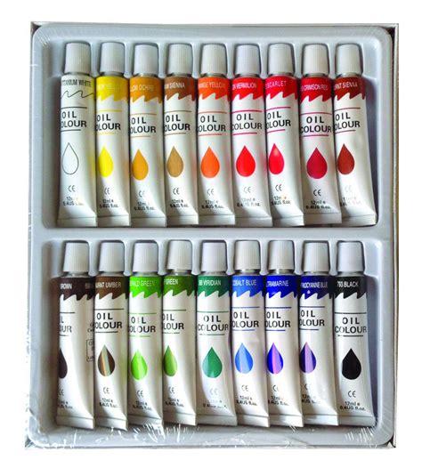 18 pc paints set professional artist painting pigment 12ml ebay