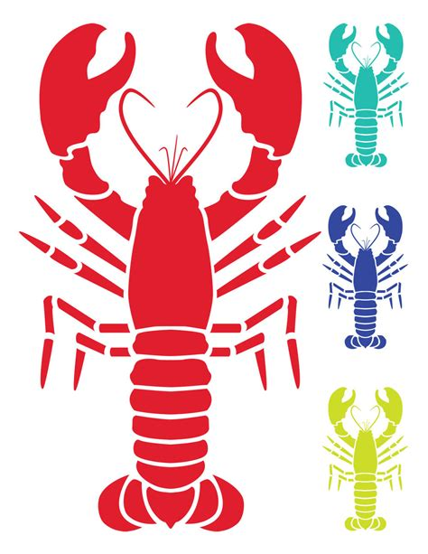 lobster clip lobster clipart mexican pencil and in color lobster