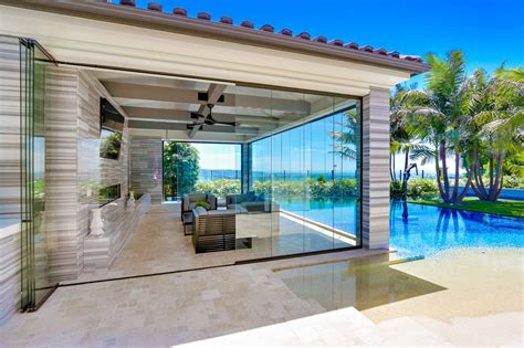 Sliding Glass Walls by Frameless Folding Sliding Patio Doors Frameless Sliding