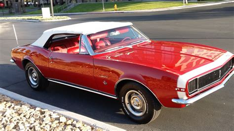 camaro 1967 convertible 1967 chevrolet camaro rs convertible numbers matching