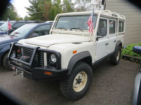 1993 land rover defender 110 4dr 4wd suv in milton vt