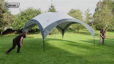 coleman gazebo coleman 174 fastpitch shelter xl 4 5 x 4 5 m easy