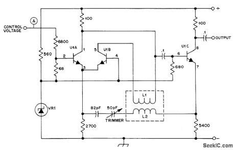 grounded capacitor vco pdf grounded capacitor vco and emitter coupled vco 28 images circuit 200mhz400mhz voltage