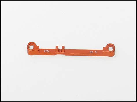 Pn Racing Mr3050ds Mini Z Mr03 A Arm Knuckle Silver pn racing mini z mr03 a arm 0 deg tie rod orange