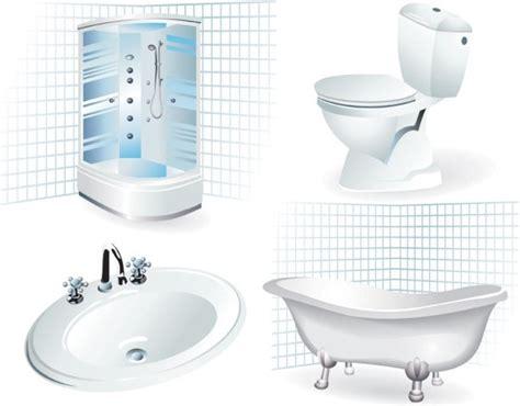 Bathroom Supplies Bathroom Supplies 01 Vector Free Vector In Encapsulated