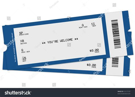 sell printable tickets online illustration two tickets stock photo 12117157 shutterstock