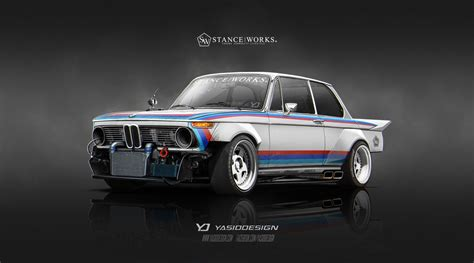 Size Of A 3 Car Garage by Stanceworks 1974 Bmw 2002 By Yasiddesign On Deviantart