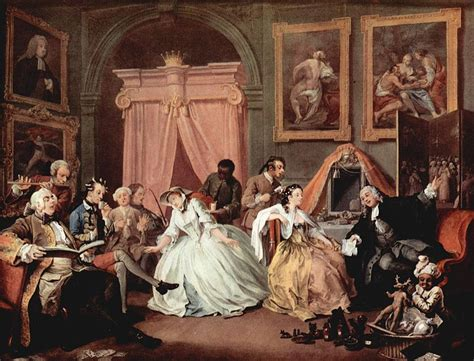 8 Paintings By Hogarth by Learn From The Satirical Novel To Satirical