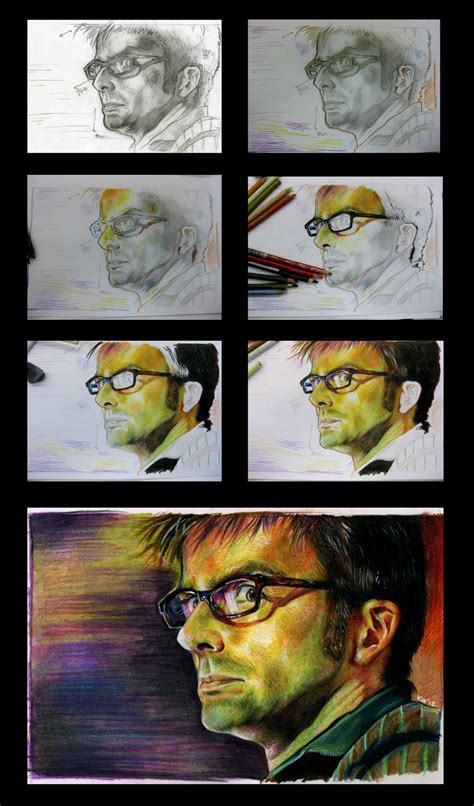 %name blending colored pencils   Art by Heather Franzen Rutten   Intro to Blending Colored Pencils   Comparison