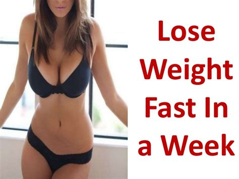 Can I Lose Weight By In Room by How To Lose Weight Fast At Home In A Week