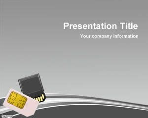 memory card ppt template memory card powerpoint template ppt template