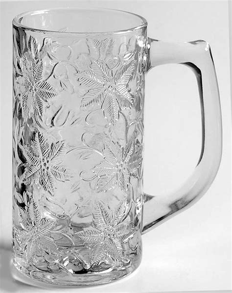 princess house pattern identification fantasia beer glass by princess house replacements ltd