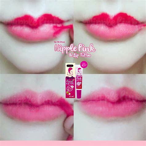 pink lips tattoo images nipple pink lip tattoo by m chue thailand best selling