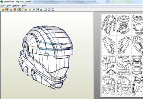 Halo Odst Armor Helmet Part 1 Of 5 Of Odst Armor Build 3 Halo Foam Templates
